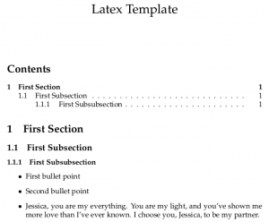 Latex Tutorial: Create a Basic Latex Template in 5 Minutes