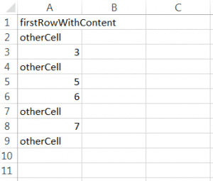 Example of reading an Excel file using xlsread