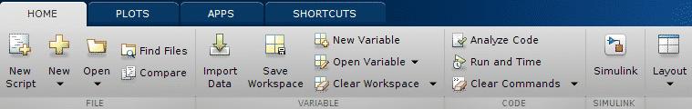 matlab layout tab